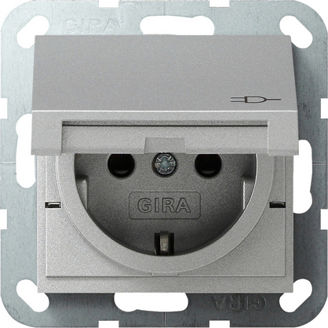 Mynd af Gira System 55 Tengill m/loki