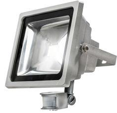 Mynd af LED kastarar með hreyfiskynjara 20W