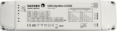 Mynd af LED Driver stillanlegur 2x30W - Multi