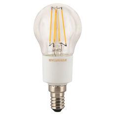Mynd af LED E14 kúlupera glær frá Sylvania, dimmanleg