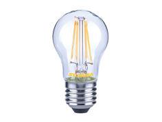 Mynd af LED E27 kúlupera glær frá Sylvania, dimmanleg