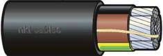 Mynd af Aflstr.1kV N1XE-AR Al 4G  25