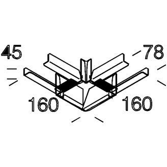 Mynd af Horn 90° á Techno 6001 braut