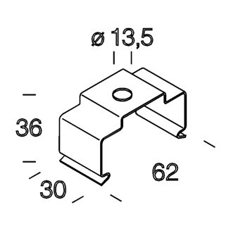 Mynd af Loftfesting Techno 6051