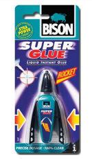 Mynd af Límtúpa Bison SuperGlue eldfl.