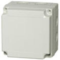 Mynd af Box PCM grátt lok 130x130x100