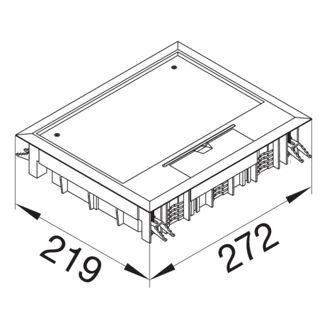 Mynd af Gólfbox E09 253mm x 200mm