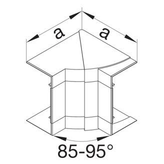 Mynd af Innhorn BRP 65x130mm Sv.