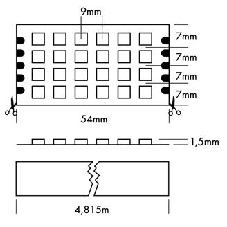 Mynd af Flex strip 2160 Quattro
