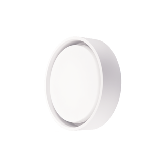 Mynd af Frame Round LED loft-/veggljós Hvítt