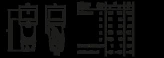 Mynd af CEE Kló 230V 3p. IP54 16A