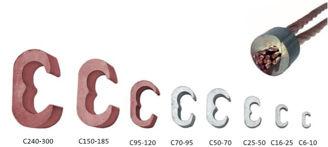 Mynd af C-Klemma 150-95/240-185mm²